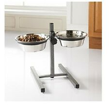 Double Raised Dog Feeder Reduce Neck & Joint Strain