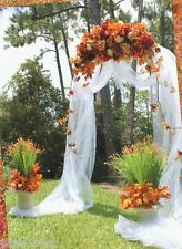 7.5 Feet Metal Garden Arch for Wedding Prom In & Outdoor Decorative