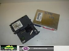 HOLDEN COMMODORE VT2 BODY CONTROL MODULE AND KEY HEAD 314 LUX