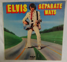 RECORD - SEPARATE WAYS - ELVIS PRESLEY - EXCELLENT CONDITION