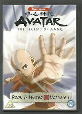 AVATAR The Legend Of Aang - BOOK 1 : WATER : VOLUME 1 - UK R2 DVD - Nickelodeon
