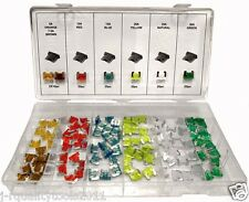 New 120pc LOW PROFILE Mini Blade Fuse Assortment Set Auto Car Truck FAST SHIPPIN