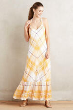 NWT Anthropologie Clementine Maxi Dress Mango By Holding Horses Sz S Small $158