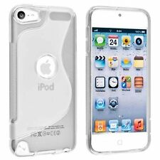 Apple iPod Touch 5 5G 5th Gen TPU Silicone Skin Cover Case + Screen Protector