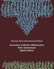Excursions in Modern Mathematics 8E by Peter Tannenbaum (Paperback, 2013)