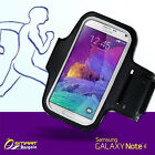 Sports Gym running ArmBand case for Samsung Galaxy Note4 IV Note3 S3 S4 S5 Edge
