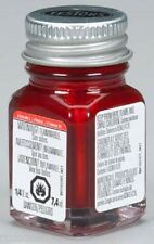 Testors 1/4 oz Stop Light Red Gloss Enamel Paint 1105