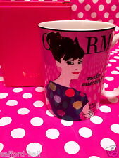 NIB Kate Spade Charm Mug Make Mischief Well Said Lenox Coffee