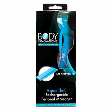 BODY INNOVATIONS THRILL RECHARGEABLE PERSONAL MASSAGER VIBRATOR MULTISPEED