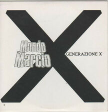 Mondo Marcio ‎– Generazione X Cd Single Promo 2007 Cardsleeve NM One Track