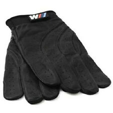 BMW M Driving Gloves Black Leather Medium Sized 80160435735  OEM