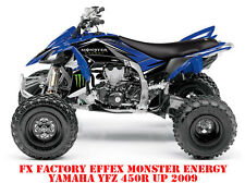 FX EFFEX FACTORY YAMAHA YFZ 450R AB 2009 MONSTER ENERGY GRAPHIC KIT LAGERWARE