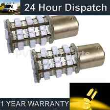 2X 382 1156 BA15s P21W AMBER 48 SMD LED FRONT INDICATOR LIGHT BULBS FI202202