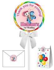 40 SHERIFF CALLIE PARTY LOLLIPOP STICKERS for goody bags, seals, cupcakes etc