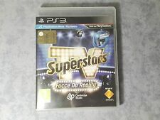 TV SUPERSTARS FACCE DA REALITY PS MOVE SONY PS3 PAL ITALIANO NUOVO NON SIGILLATO