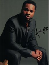 Malcolm Jamal Warner The Cosby Show autographed 8x10 photo with COA by CHA