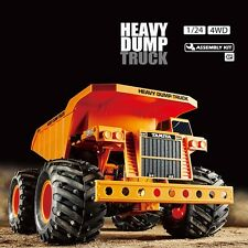 Tamiya 1:24 Heavy Dump Truck 4WD RC Electric Building Kit TAM58622