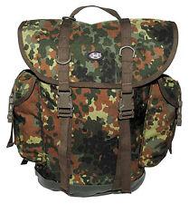 MFH BW MOCHILA modelo antiguo ejército alemán backpack mochila de camuflaje 30l