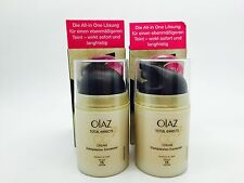 x2 olaz Olay Total Effects 7-in-1 CC Cream medium to dark 50 ml each (A11)