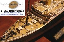 1/350 Titanic Wood Deck for Academy or Minicraft by Scaledecks.com