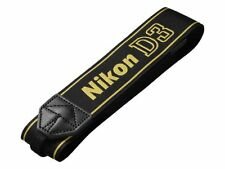 Nikon Japan Camera Neck official Strap AN-D3 for D3 Black Yellow