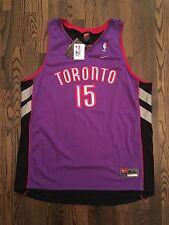 NWT Nike Vince Carter Toronto Raptors #15 Swingman Jersey Size 2XL 52