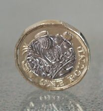 2017 12 sided £1 One Pound Coin new design Uncirculated wrong date 2016