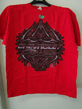 CHEVROLET RED CHEVY RACING T SHIRT (NEW) MENS LARGE or XL