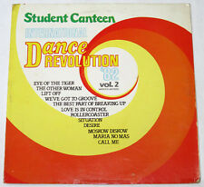 Philippines STUDENT CANTEEN INTERNATIONAL DANCE REVOLUTION '82 LP Record