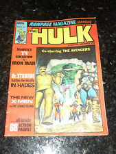 RAMPAGE Magazine Starring THE HULK - No 9 - Date 03/1978 - UK marvel Comic