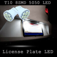 T10 8 SMD 5050 LED 6000K White License Plate Light Tag Bulb 259 906 2825 168 196