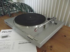 SONY TURNTABLE PS-LX2 DIRECT DRIVE TURNTABLE c.1981 MADE IN JAPAN
