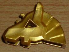 Lego Ritter 1 Pferdemaske /- haube in gold