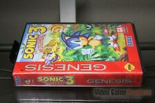 Sonic the Hedgehog 3 First Print (Sega Genesis, 1994) FACTORY SEALED! - RARE!