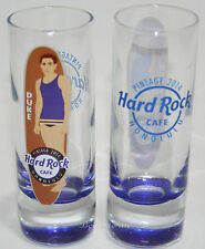 NEW 2014 Hard Rock Cafe HONOLULU Hawaii PINTAGE EVENT Shot Glass DUKE Surfboard
