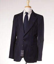 NWT $2895 ARMANI BLACK LABEL Lightweight Wool-Cashmere Sport Coat Slim 42 R Navy