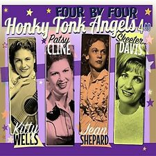 Honky Tonk Angels (2016, CD NEUF)4 DISC SET