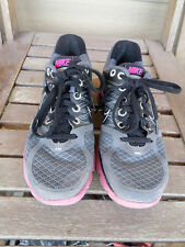 Nike Lunarglide 2 Gray/Black/Pink Running Shoes Women's Size 6