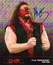 Abyss Signed Autographed 8x10 Photo - w/COA - WWE TNA Wrestling