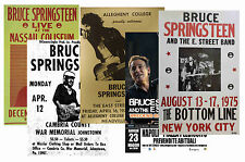 BRUCE SPRINGSTEEN - SET OF 5 - A4 POSTER PRINTS # 1