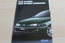 131644) Fiat Marea + Weekend Prospekt 07/1996