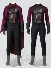 X-Men Days of Future Past Cosplay Magneto Erik Lehnsherr Cosplay Costume Outfit