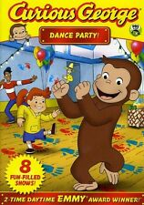 Curious George: Dance Party (2012, REGION 1 DVD New) AWS