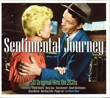 SENTIMENTAL JOURNEY - 50 ORIGINAL HITS  - VARIOUS ARTISTS (NEW SEALED 2CD)