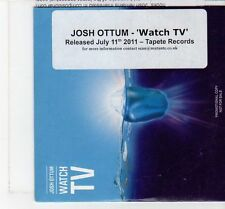 (FT437) Josh Ottum, Watch TV - 2011 DJ CD