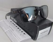 OAKLEY matte black/black iridium HOLBROOK OO9102-63 sunglasses NEW IN BOX!