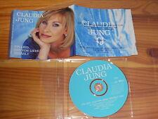 CLAUDIA JUNG - EIN LIED DAS VON LIEBE ERZÄHLT / 1 TRACK MAXI-CD 1996 MINT!
