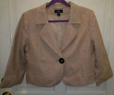 h&m pink gold jacket, US size 10, eu 40