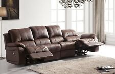 Voll-Leder 4er Couch Sofa Relaxsessel Relaxsofa Fernsehsessel 5129-4-377