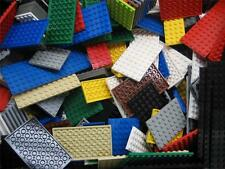 MIXED LOT OF 50 LEGO FLATS PLATES city town thin 4x4 6x8 6x10 6x6 8x8 4x8 BULK